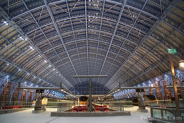 For the love of London St Pancras