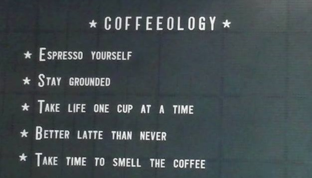 Introducing… the charity coffeehouse rules!