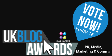 Vote for me in the UK Blog Awards (please)!