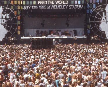 There's a world outside your window! Live Aid lessons