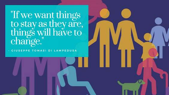 """Guest blog: """"If we want things to stay as they are, things will have to change"""""""