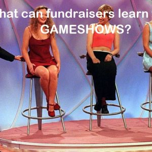 What can fundraisers learn from TV gameshows?