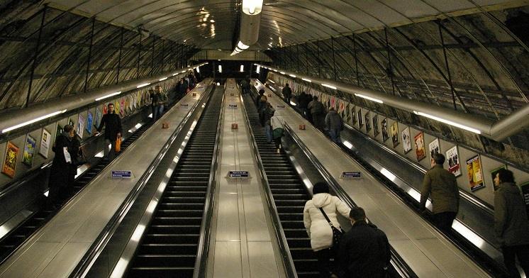 What can charities learn from the Holborn escalator?