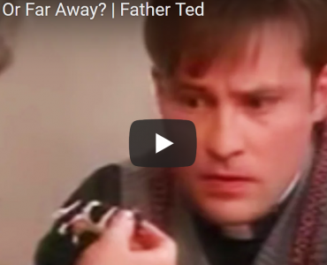 """The cows out there are far away!"" – charity lessons from Father Ted"