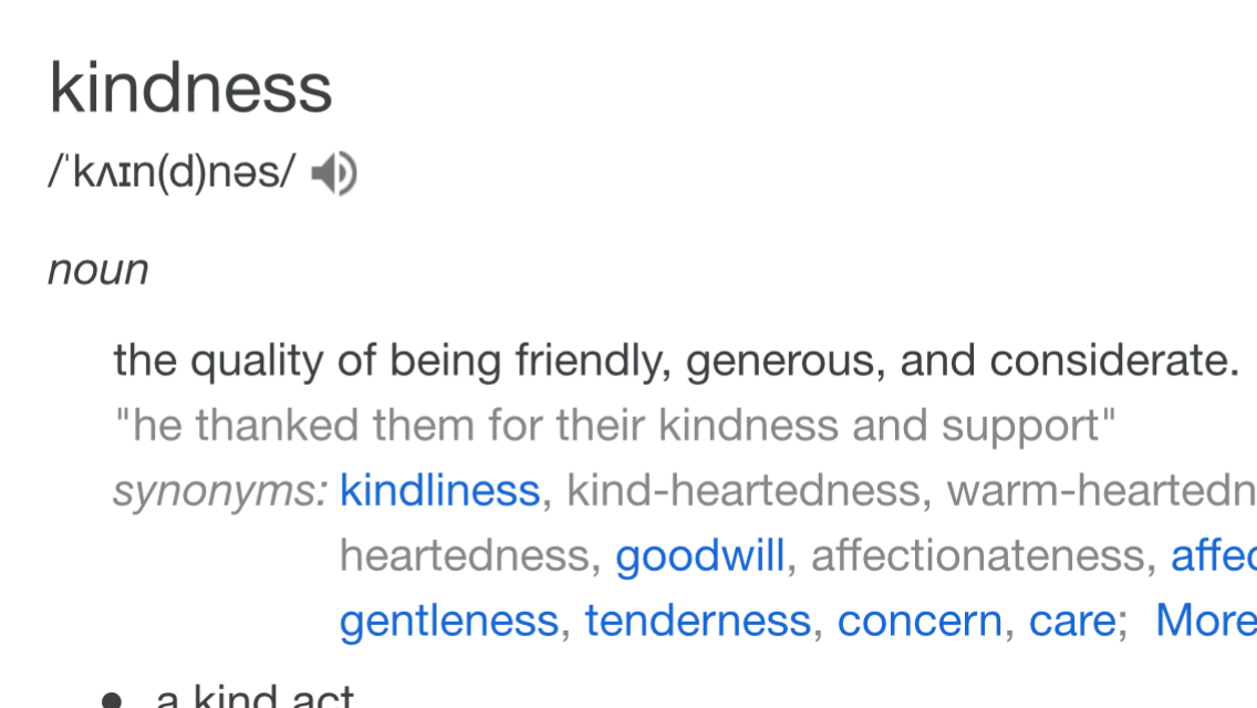 Guest blog: Kindness – the perfect guide to fundraising?