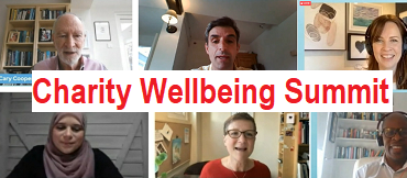 """""""The more you support colleagues away from work, the better they'll do in work."""" – my #CharityWellbeingSummit notes"""