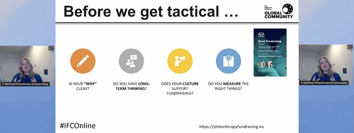 Building blocks before tactics! My notes from #IFCOnline